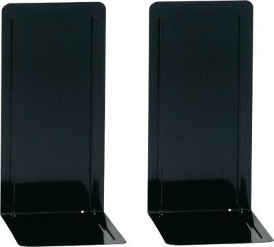 MAUL Buchstütze für Ordner, 240 x 140 x 120 mm, schwarz