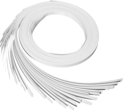 MAUL Karton-Streifen für Namens-Profilleisten, weiß, L 1000 x B 10 mm