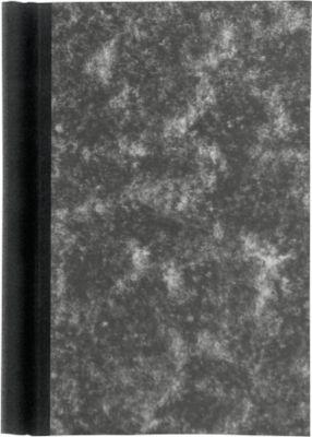 MAUL Klemmbinder Wolkenmarmor, DIN A5, mit Einband, schwarz
