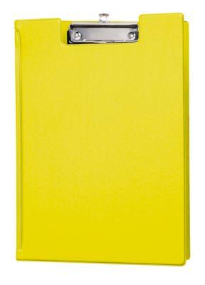 MAUL Klemmmappe, DIN A4, mit Aufhängeöse, gelb