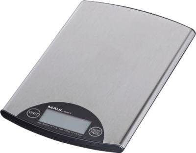 MAUL-letterweegschaal MAUL-staal II, digitaal, batterijgevoed, extra plat, extra plat.