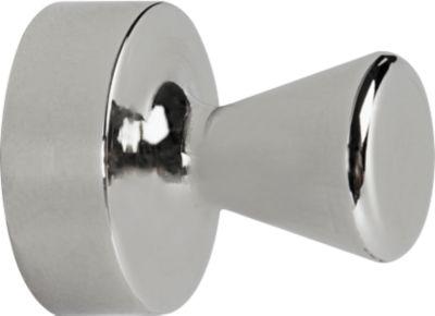 MAUL magneten met kegelvormige knop, metalen uitvoering, Ø 15 x 20 mm, 4 stuks