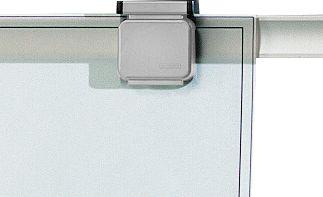 MAUL Magnetische clips, voor presentatiesystemen, grijs, 10 stuks