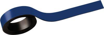 MAUL Magnetstreifen, beschriftbar, 2 Stück, L 1000 x B 15 mm, blau