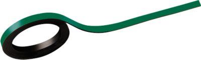 MAUL Magnetstreifen, beschriftbar, 2 Stück, L 1000 x B 5 mm, grün