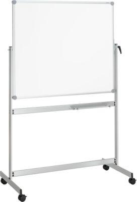 MAUL mobiele kantelbare whiteboard met twee schrijfoppervlakken, gecoat, 1000 x 1500 mm