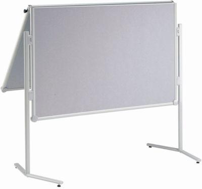 MAUL Moderationstafel Pro, klappbar, Glasfaser, grau