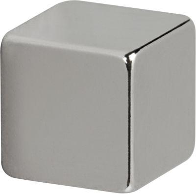 MAUL Neodym-Magnet Würfel 10x10x10mm, 4 Stück