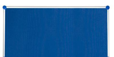 MAUL Pinnwandtafel 2000, Textil, blau, 900 x 1800 mm