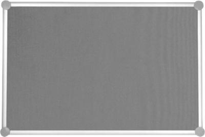 MAUL Pinnwandtafel 2000, Textil, grau, 600 x 900 mm