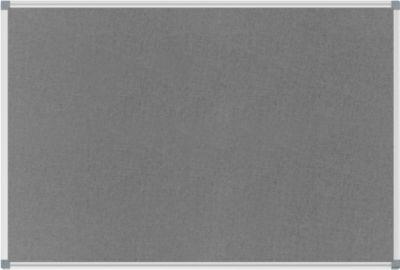 MAUL prikbord standaard, textiel, 600 x 900 mm, grijs