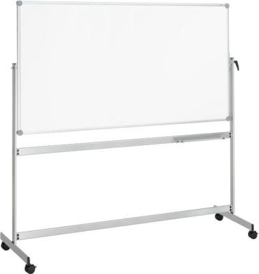 MAUL Wende-Whiteboard Revolve, mobil, beschichtet, 1000 x 2100 mm