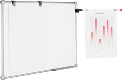 Premium whiteboard 2000 set zilver, 900x1800 mm, gecoat