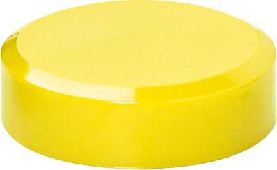 MAULPro-serie magneten whiteboard 2000, 30 x 10,5 mm, 20 stuks, geel