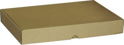 Maxi kartonnen verzenddozen, 333 x 244 x 45 mm, 50 stuks