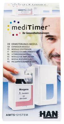 mediTimer® -uitbreidingsmodule, medicijndispenser, elke mogelijke uitbreiding, 1 stuk