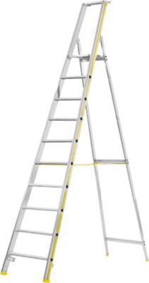 MEHRSI®-Stufenstehleiter, 10 Stufen