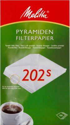 Melitta pyram.-filter 202S, 5 x 100 st.