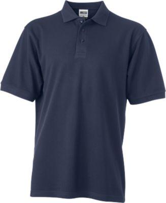 Mens Workwear Polo, navy, XXL