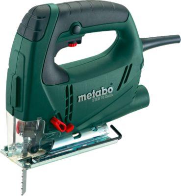 Metabo-zuigerzaag STEB 70 Quick, met snelwisselzaag met snelwisselzaagblad.