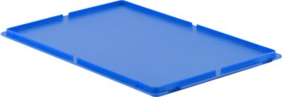 MF-deksel, blauw