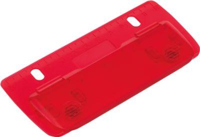 Mini-Locher Page, rot