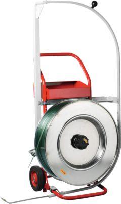 Mobiel omsnoeringsgereedschap Palstrap Comfort, voor riemen van PP & PET, met doorschuifhulp, stalen buis, voor banden van PP & PET