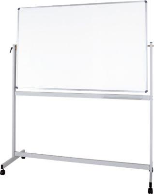 Mobiel whiteboard MAUL-standaard, geplastificeerd, 1000 x 1500 mm, met kunststof coating