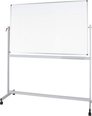 Mobiel whiteboard MAUL-standaard, geplastificeerd, 900 x 1200 mm.