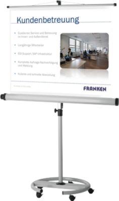 Mobile Stativleinwand Franken Pro, 1500 x 1500 mm