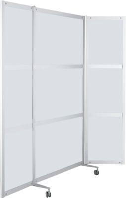 Mobile Stellwand, ESG Klarglas