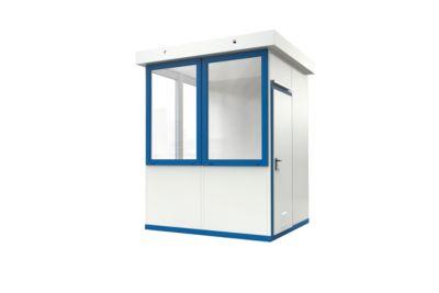 Mobiler Raum, L 2045 x B 2045 mm, für Außenaufstellung, mit Fußboden