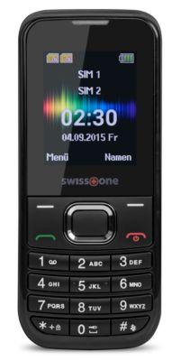 Mobiltelefon Swisstone SC 230, GSM-Mobiltelefon, Dual Sim Funktion