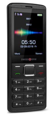 Mobiltelefon Swisstone SC 550, GSM-Mobiltelefon, Dual Sim Funktion
