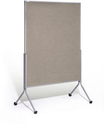 Moderationstafel Mediator, auch als Stellwandsystem einsetzbar, grau