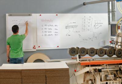 Modulair whiteboardsysteem Skin, 1150 x 750 mm