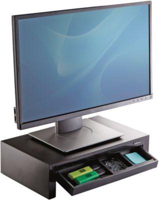 Monitor-Ständer Fellowes Designer Suites, bis 21″, 3-stufig höhenverstellbar, B 41 x T 24 x H 11 cm