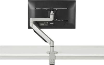 Monitorarm BakkerElkhuizen Premium Office Single, bis 12 kg, Tischklemme, dreh-/höhenverstellb.,Kabelführ