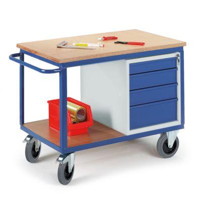Montagewagen mit Schubladen