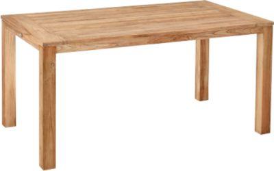Moretti teak tafel