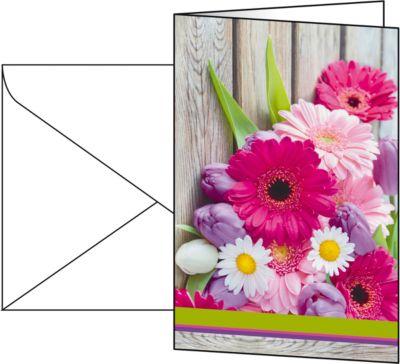 Motivkarte Colorful, 10 Stück