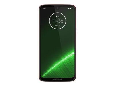 Motorola Moto G7 Plus - Lebendiges Rot - 4G - 64 GB - GSM - Smartphone