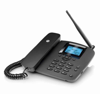 Motorola Tischtelefon FW200L, schnurlos, 2G Mobilfunknetz, simlockfrei