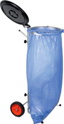 Müllsackständer, 70 - 120 L, fahrbar