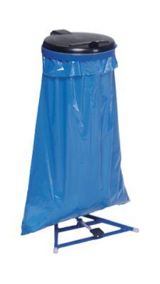 Müllsackständer mit Fußpedal, enzianblau