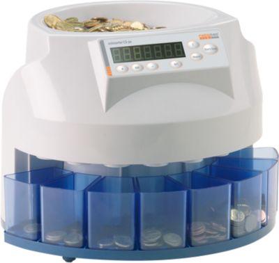 Münzzähl- und Sortiermaschine ratiotec® CS 50