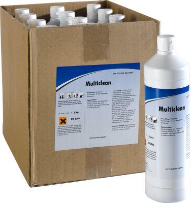 Multiclean - alkalische stroomreiniger, 12 flessen