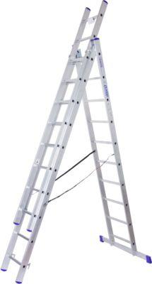 Multifunctionele ladder, 3 x 10 sporten