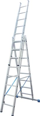 Multifunctionele ladder, 3x8 sporten