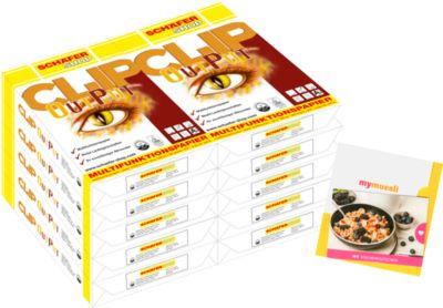 Multifunktionspapier CLIP OutPut 20 x 500 Blatt + mymüsli-Gutschein GRATIS